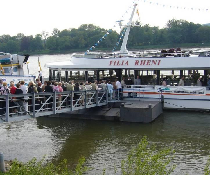 Jubiläumsschifffahrt 2006