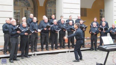 Männerchor erfolgreich beim Vokalfestival und beim Poverty Requiem am 20.6. 2010 in Bonn