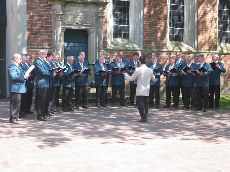 Konzertreise Friesland 2004