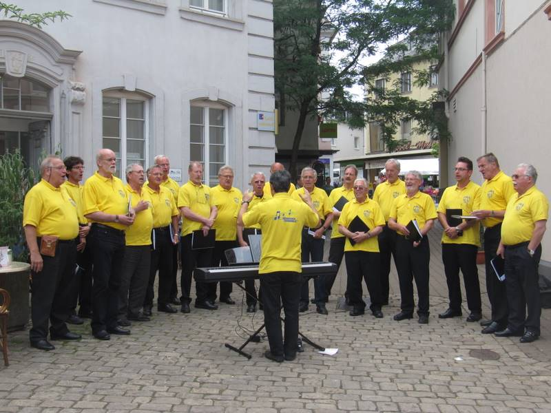 Männerchor auf Konzertreise im Saarland: Die Zukunft ist unsere Tradition…