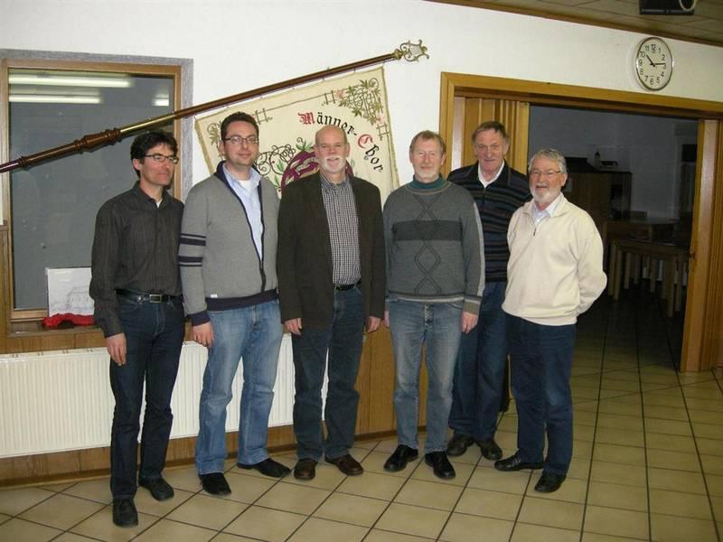 Jahreshauptversammlung des Männerchores Quirrenbach am 10. Januar 2012