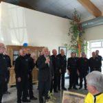 Claus Scheel ehrt Peter Ströbele für 25 Jahre aktive Mitgliedschaft