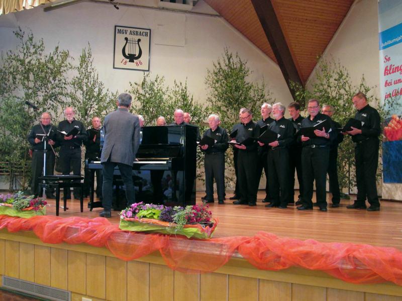 MGV Asbach 130 Jahre – Der MC gratuliert