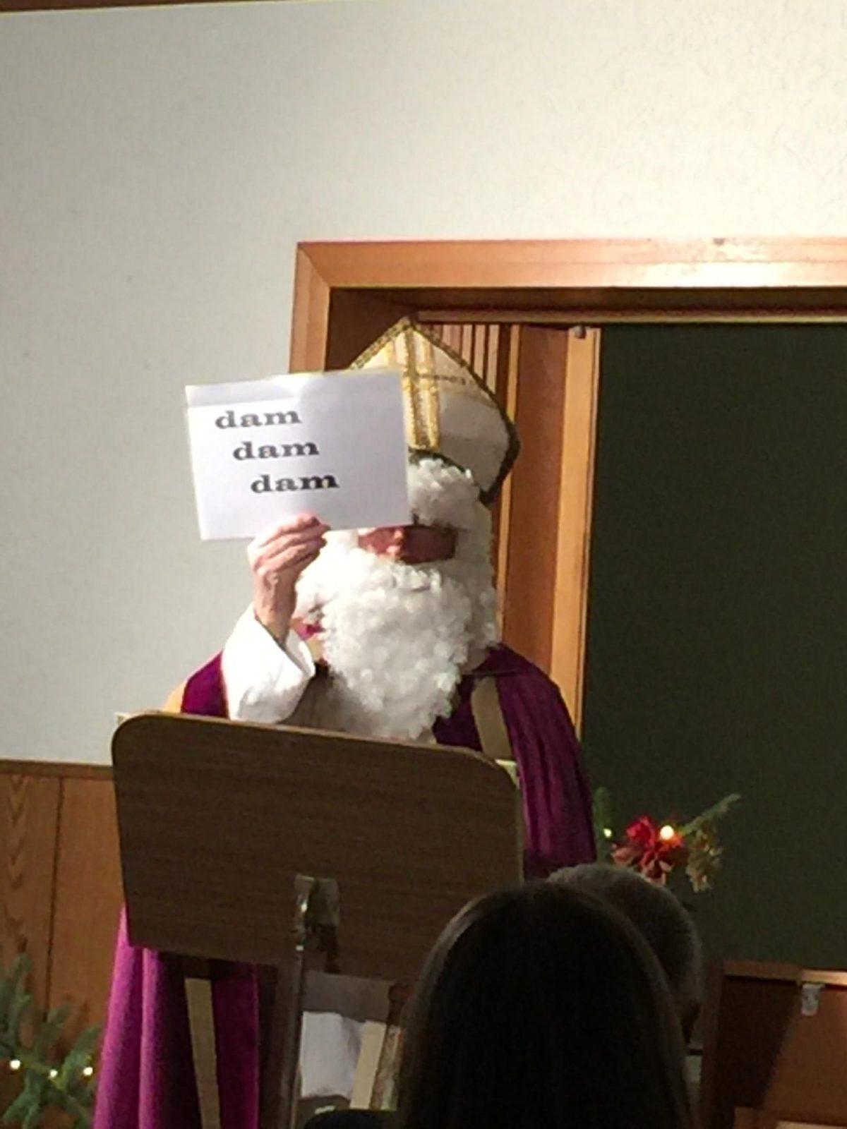 St. Nikolaus hatte sich persönlich Zeit genommen