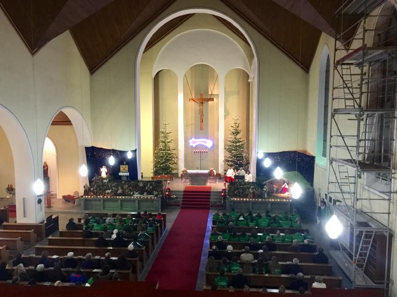 St. Laurentius erlebt erstmals den Männerchor