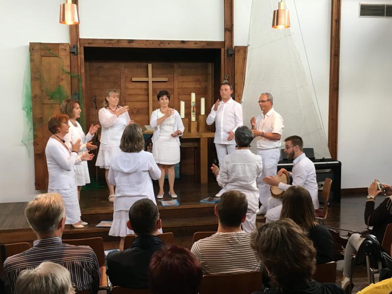 Gemeinsames Benefizkonzert mit Kammerchor und französischem Partnerchor